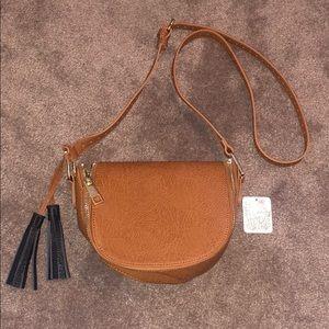 Free People Brown Cross Body Bag